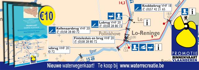 Vaarkaart Promotie Binnenvaart Vlaanderen